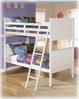 Ashley Lulu B102-59P/59R/59S Twin/twin bunk bed (wood)