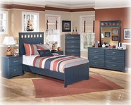 Ashley Leo B103-21/26/51/52/82 Twin Panel Bedroom Set