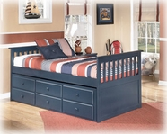 Ashley Leo B103-50D/50T/53/83 Twin trundle bed (wood)