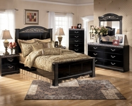 Ashley Constellations B104-31/36/64/67/98 Queen Panel Bedroom Set