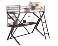 Ashley Dinsmore B106-60 Twin/desk loft bed