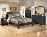 Ashley Enchanted Glade B119-21/26/52/53 Twin Panel Bedroom Set
