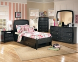 Ashley Enchanted Glade B119-54/60/87/B100-12 Full panel bed w/ trundle
