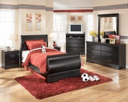 Ashley Huey Vineyard B128-31/36/62/63/82 Twin Sleigh Bedroom Set