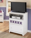Ashley Zayley B131-38 Media chest