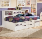 Ashley Zayley B131-51/82/85 Twin bedside storage bed