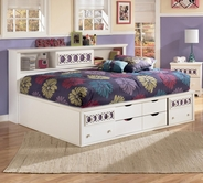 Ashley Zayley B131-51/85/88 Full Bedside Storage Bed