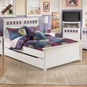 Ashley Zayley B131-60/84/86/87/B100-12 Full panel bed w/ trundle