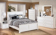 Ashley Bostwick Shoals B139-31/36/54/57/96 Queen Panel Bedroom Set
