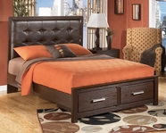Ashley Aleydis B165-56S/58/95/B100-14 King storage bed (see below)
