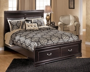 Ashley Esmarelda B179-54S/57/95/B100-13 Queen storage bed (see below)