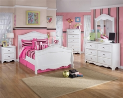Ashley Exquisite B188-21/26/62N/63N/82N Twin Sleign Bedroom Set