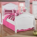 Ashley Exquisite B188-62N/63N/82N Twin sleigh bed