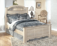 Ashley Catalina B196-66/68/99 King panel bed