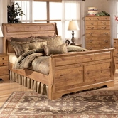 Ashley Bittersweet B219-76/78/97 King sleigh bed