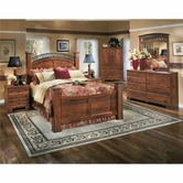 Ashley Timberline B258-31/36/64N/71N/77/98N Queen Poster Bedroom Set