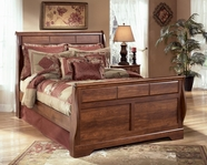 Ashley Timberline B258-54/57/96 Queen sleigh bed