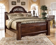 Ashley Gabriela B347-68/66/99 King poster bed