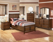Ashley Portsquire B397-21/26/62/63/83 Twin Panel  Bedroom Set