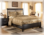Ashley Kira B473-56/58/97 King panel bed