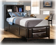 Ashley Kira B473-62/63/82 Twin storage bed