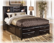 Ashley Kira B473-64/65/98 Queen Storage Bed