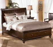 Ashley Camdyn B506-54/57/96 Queen sleigh bed w/ storage