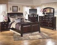 Ashley Ridgley B520-31/36/74/77/98 Dresser, Mirror, sleigh bedroom set