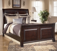 Ashley Ridgley B520-76/78/99 King sleigh bed