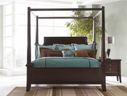 Ashley Martini Suite B551-50/62/72/99 King poster bed w/ canopy