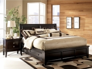 Ashley Martini Suite B551-74/77/75L/75R Queen platform bed w/ storage