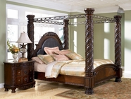 Ashley North Shore B553-150/151/162/172/199 King poster bed