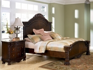 Ashley North Shore B553-256/158/197 King panel bed