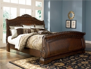 Ashley North Shore B553-76/78/79 King sleigh bed