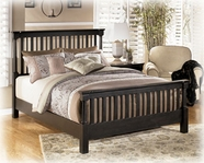 Ashley Louden B581-81/98 Queen poster bed