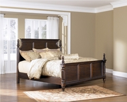 Ashley Key Town B668-54/57/96 Queen panel bed