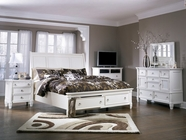 Ashley Prentice B672-31/36/74/77/98 Queen Sleigh Bedroom Set w/ storage