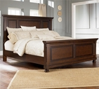 Ashley Porter B697-56/58/97 King panel bed