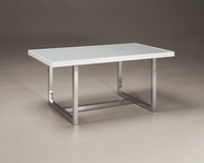 ASHLEY Baraga D410-26 White rectangular dining table