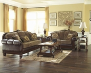 ASHLEY Beamerton Heights-Chestnut 3060538-3060535 Sofa Set