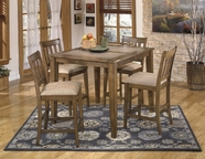 ASHLEY Brazenton D468-32/124 Counter height dining set
