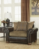 ASHLEY Briar Place - Antique 7860123 CHAIR AND A HALF