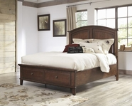 ASHLEY Burkesville B565-56S/58/97S King wood storage panel bed