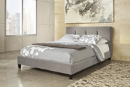 ASHLEY Candiac B703-76/78 King upholstered bed