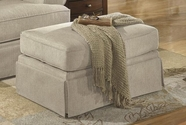ASHLEY Candlewick - Linen 7820014 OTTOMAN