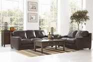 ASHLEY Crestwood-Walnut 4000138-4000135 Sofa Set