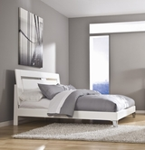 ASHLEY Culverden B710-56/58/B100-14 King panel mirrored bed