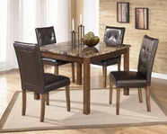 Ashley Theo D158-225 -225 Regular height table and 4 chairs