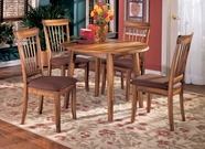 ASHLEY D199-4x01-15 Berringer Drop Leaf Dinette Set
