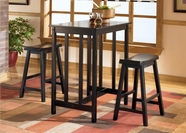 Ashley Conrad D202-113 -113 Rect Counter height w/ 2 stools